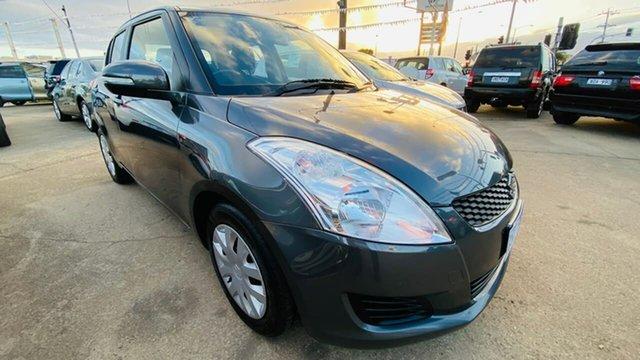 Used Suzuki Swift FZ GL Maidstone, 2013 Suzuki Swift FZ GL Grey 4 Speed Automatic Hatchback