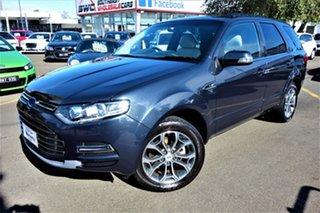 2011 Ford Territory SZ Titanium Seq Sport Shift Blue 6 Speed Sports Automatic Wagon.