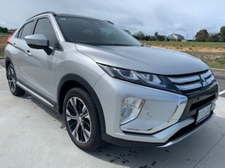 2019 Mitsubishi Eclipse Cross YA MY19 Exceed 2WD Silver 8 Speed Constant Variable Wagon.