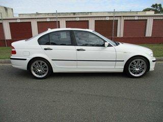 2003 BMW 3 Series E46 MY2003 318i Steptronic Executive White 5 Speed Sports Automatic Sedan.