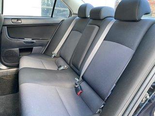 2009 Mitsubishi Lancer CJ MY09 ES Black 6 Speed Constant Variable Sedan