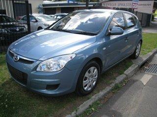 2008 Hyundai i30 FD MY09 SLX 1.6 CRDi Blue 4 Speed Automatic Hatchback.