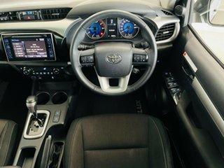 2018 Toyota Hilux GUN136R SR5 Double Cab 4x2 Hi-Rider Silver, Chrome 6 Speed Sports Automatic
