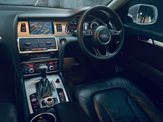 2014 Audi Q7 4L MY14 TDI Tiptronic Quattro White 8 Speed Sports Automatic Wagon.