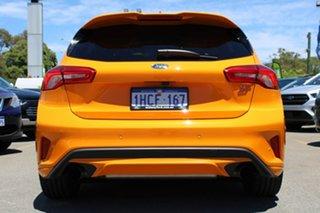 2020 Ford Focus SA 2020.25MY ST Orange 6 Speed Manual Hatchback