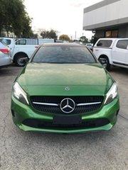 2018 Mercedes-Benz A-Class W176 808+058MY A180 D-CT Green 7 Speed Sports Automatic Dual Clutch.