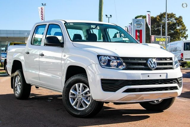 Demo Volkswagen Amarok 2H MY20 TDI420 4MOTION Perm Core Cannington, 2020 Volkswagen Amarok 2H MY20 TDI420 4MOTION Perm Core Candy White 8 Speed Automatic Utility