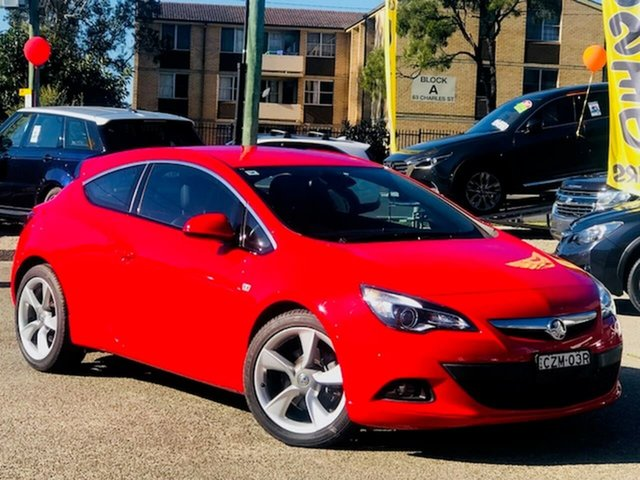 Used Holden Astra PJ MY16 GTC Liverpool, 2015 Holden Astra PJ MY16 GTC Red 6 Speed Automatic Hatchback