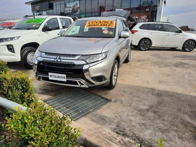 Demo Mitsubishi Outlander ZL MY21 ES 2WD Liverpool, 2021 Mitsubishi Outlander ZL MY21 ES 2WD Sterling Silver 5 Speed Manual Wagon