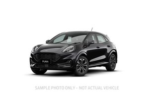2020 Ford Puma JK 2020.75MY ST-Line Black 7 Speed Sports Automatic Dual Clutch Wagon.