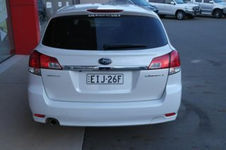 2014 Subaru Liberty B5 MY14 2.5i Lineartronic AWD White 6 Speed Constant Variable Wagon.