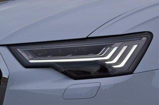 2020 Audi A6 4A MY20 40 TFSI S Tronic White 7 Speed Sports Automatic Dual Clutch Sedan.