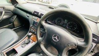 2005 Mercedes-Benz C-Class W203 MY2006 C180 Kompressor Classic Silver 5 Speed Automatic Sedan