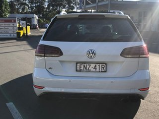 2019 Volkswagen Golf 7.5 MY19.5 R DSG 4MOTION White 7 Speed Sports Automatic Dual Clutch Wagon