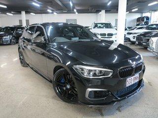 2019 BMW 1 Series F20 LCI-2 M140i Black 8 Speed Sports Automatic Hatchback.