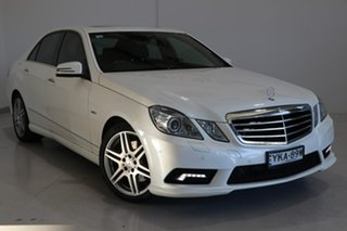 2011 Mercedes-Benz E-Class W212 E250 CGI Avantgarde White 5 Speed Sports Automatic Sedan.