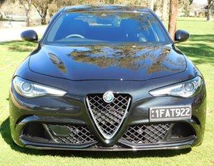2018 Alfa Romeo Giulia Quadrifoglio Black 8 Speed Sports Automatic Sedan.