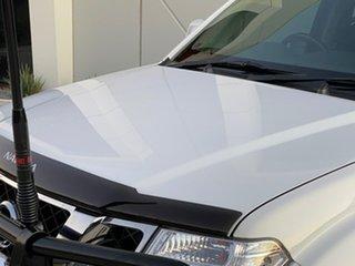 2014 Nissan Navara D40 S7 ST White 6 Speed Manual Utility