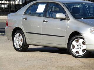 2006 Toyota Corolla ZZE122R 5Y Ascent Adventurine Silver 4 Speed Automatic Sedan.