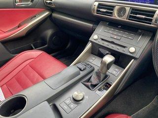 2015 Lexus IS AVE30R IS300h F Sport White 1 Speed Constant Variable Sedan Hybrid