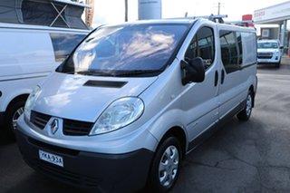 2012 Renault Trafic X83 Phase 3 Low Roof LWB Silver 6 Speed Manual Van.