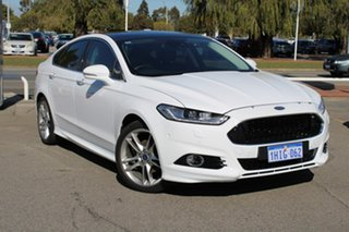 2018 Ford Mondeo MD 2018.75MY Titanium White 6 Speed Sports Automatic Dual Clutch Hatchback