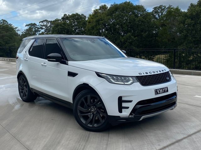 Used Land Rover Discovery Series 5 L462 MY17 First Edition Cooroy, 2017 Land Rover Discovery Series 5 L462 MY17 First Edition White 8 Speed Sports Automatic Wagon