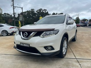 2014 Nissan X-Trail ST-L White Constant Variable Wagon.