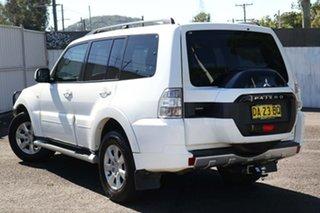2014 Mitsubishi Pajero NX MY15 GLX White 5 Speed Sports Automatic Wagon.