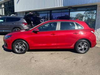 2021 Hyundai i30 PD.V4 MY21 Fiery Red 6 Speed Automatic Hatchback.