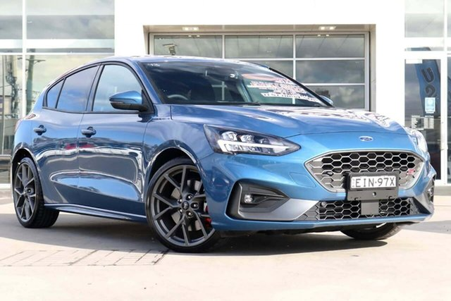 Used Ford Focus ST Liverpool, 2020 Ford Focus ST Ford Performance Blue 7 Speed Automatic Hatchback