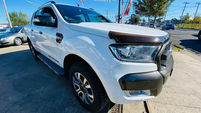 Used Ford Ranger PX MkII 2018.00MY Wildtrak Double Cab Maidstone, 2018 Ford Ranger PX MkII 2018.00MY Wildtrak Double Cab White 6 Speed Sports Automatic Utility