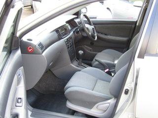 2006 Toyota Corolla ZZE122R 5Y Ascent Adventurine Silver 4 Speed Automatic Sedan