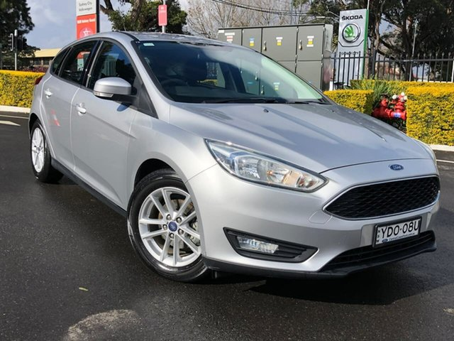 Used Ford Focus LZ Trend Botany, 2015 Ford Focus LZ Trend Silver 6 Speed Automatic Hatchback