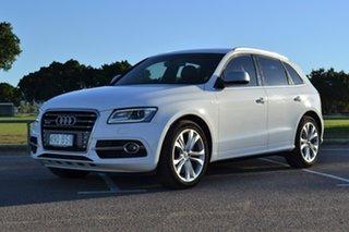 2016 Audi SQ5 8R MY17 TDI Tiptronic Quattro White 8 Speed Sports Automatic Wagon