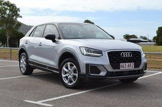 2018 Audi Q2 GA MY18 design S Tronic Silver 7 Speed Sports Automatic Dual Clutch Wagon.