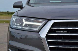 2018 Audi Q7 4M MY18 TDI Tiptronic Quattro Grey 8 Speed Sports Automatic Wagon.