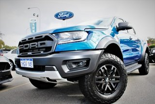 2019 Ford Ranger PX MkIII 2019.75MY Raptor Blue 10 Speed Sports Automatic Double Cab Pick Up