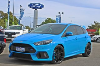 2016 Ford Focus LZ RS AWD Blue 6 Speed Manual Hatchback.