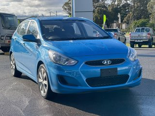 2018 Hyundai Accent Sport Blue Sports Automatic Hatchback.