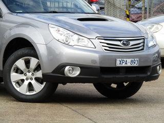 2010 Subaru Outback B5A MY10 2.0D AWD Premium Active Grey 6 Speed Manual Wagon.
