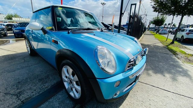 Used Mini Hatch R50 MY03 Cooper Maidstone, 2004 Mini Hatch R50 MY03 Cooper Blue 6 Speed Constant Variable Hatchback