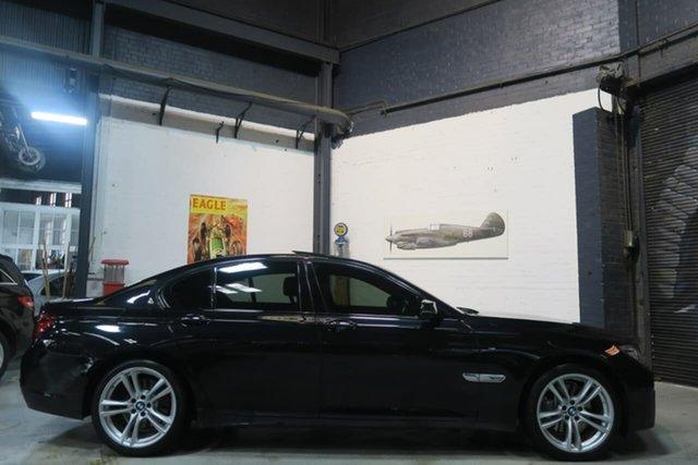 Used BMW 7 Series F01 LCI 740i Steptronic Port Melbourne, 2014 BMW 7 Series F01 LCI 740i Steptronic Black 8 Speed Sports Automatic Sedan