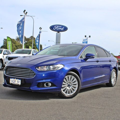 Used Ford Mondeo MD Trend Midland, 2016 Ford Mondeo MD Trend Blue 6 Speed Sports Automatic Hatchback