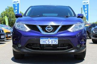 2017 Nissan Qashqai J11 TS Blue 1 Speed Constant Variable Wagon.