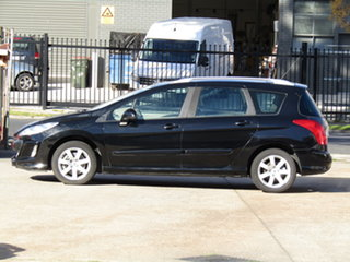 2008 Peugeot 308 T7 XSE Touring 8 Ball Black 4 Speed Sports Automatic Wagon