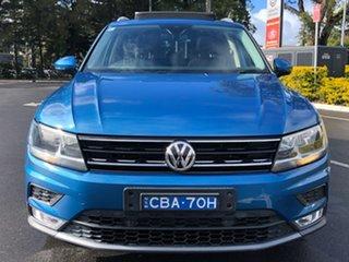 2016 Volkswagen Tiguan 5N MY17 110TDI DSG 4MOTION Comfortline Blue 7 Speed.