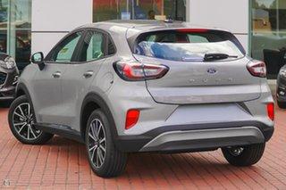 2021 Ford Puma JK 2021.75MY Puma Silver 7 Speed Sports Automatic Dual Clutch Wagon.