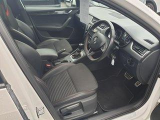 2016 Skoda Octavia NE MY16 RS DSG 162TSI White 6 Speed Sports Automatic Dual Clutch Wagon