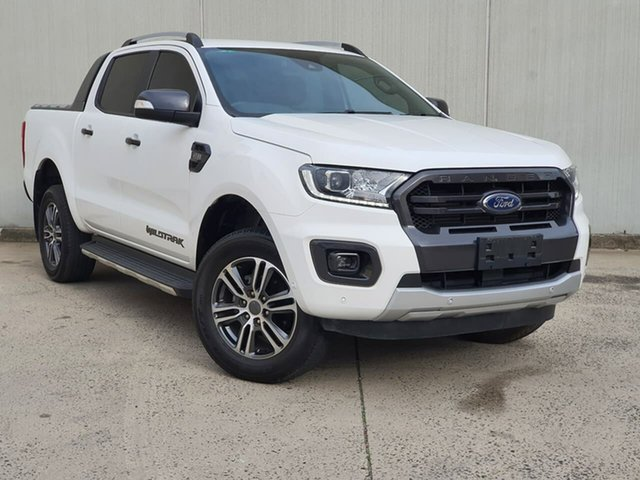 Used Ford Ranger PX MkIII 2019.75MY Wildtrak Oakleigh, 2019 Ford Ranger PX MkIII 2019.75MY Wildtrak White 6 Speed Sports Automatic Double Cab Pick Up